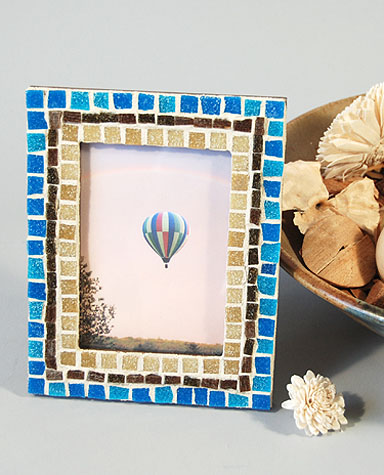 mosaic frame no 5 hand made picture frame size 5 34 x 7 34 price 2500 mosaic picture frame - Mosaic Picture Frames